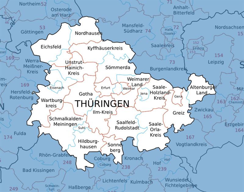 Karte Weimar Und Umgebung.Vermessungsleistungen In Thuringen U Deutschlandweit